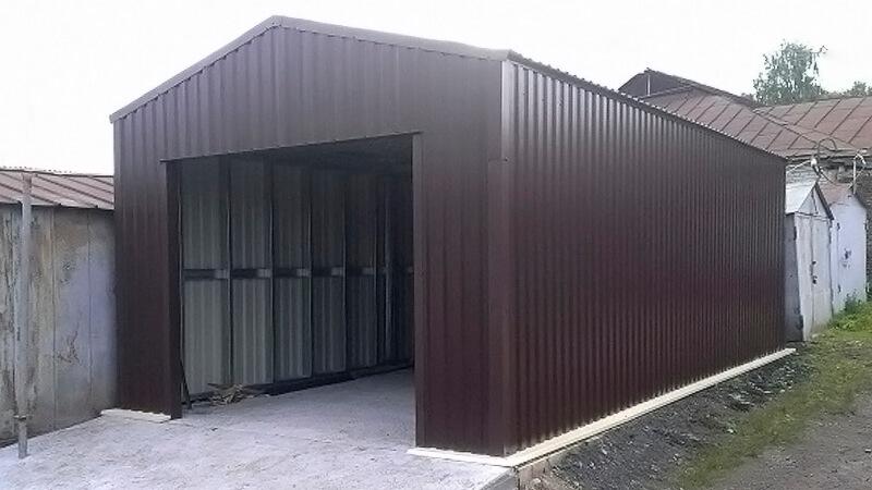 ЛСТК гараж