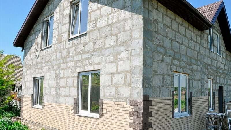 Дом из полистиролбетона