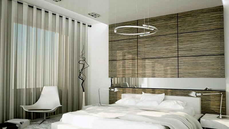 стеновые панели двп в спальне