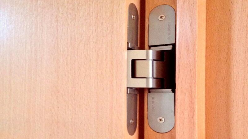 скрытые петли для дверей