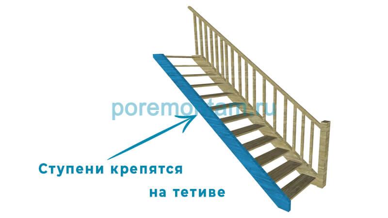 какие бывают лестницы виды