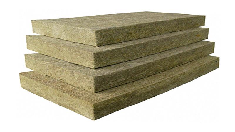 Базальтовые плиты - материал с хорошим показателем звукопоглащения
