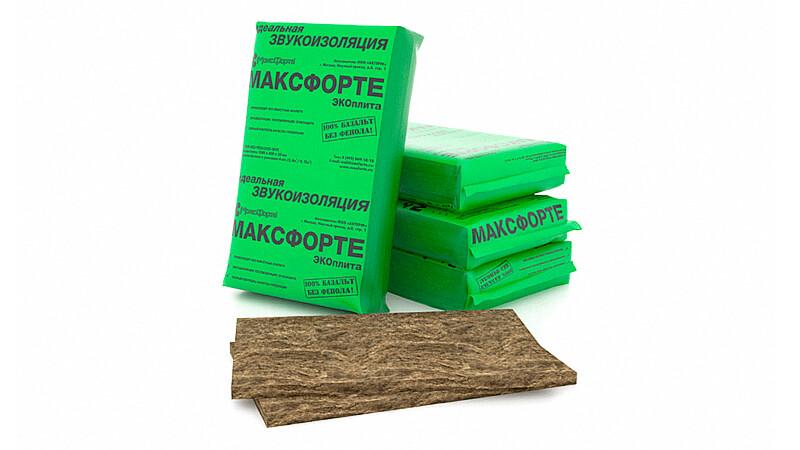 МаксФорте-ЭКОплита из вулканической породы