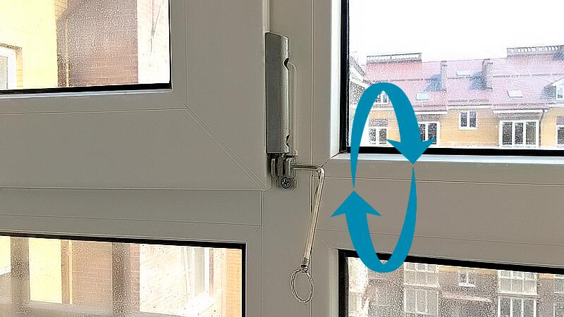 регулировка нижней петли пластикового окна