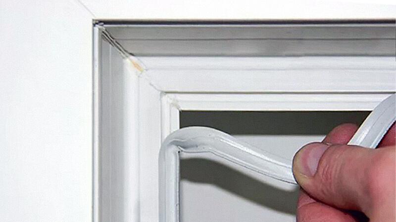 Как заменить уплотнитель на окне